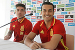 20160530. Hector Bellerin and Pedro Rodriguez in Press Conference.