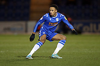 Cohen Bramall of Colchester United during Colchester United vs Swindon Town, Sky Bet EFL League 2 Football at the JobServe Community Stadium on 28th January 2020