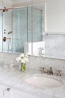 Bright modern bathroom
