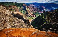 Waimea Canyon State Park in Kauai, Hawaii