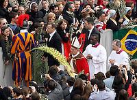 20130324 VATICANO: PAPA FRANCESCO CELEBRA LA DOMENICA DELLE PALME