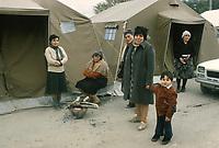 - terremoto in Irpinia (novembre 1980), tendopoli a Sant'Angelo dei Lombardi<br /> <br /> - earthquake in Irpinia (November 1980), tent camp in Sant'Angelo dei Lombardi