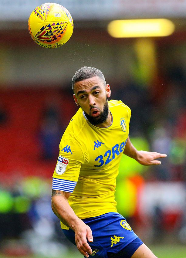 Leeds United's Kemar Roofe<br /> <br /> Photographer Alex Dodd/CameraSport<br /> <br /> The EFL Sky Bet Championship - Sheffield United v Leeds United - Saturday 1st December 2018 - Bramall Lane - Sheffield<br /> <br /> World Copyright © 2018 CameraSport. All rights reserved. 43 Linden Ave. Countesthorpe. Leicester. England. LE8 5PG - Tel: +44 (0) 116 277 4147 - admin@camerasport.com - www.camerasport.com