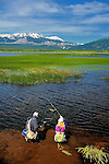 Freshwater Fly fishing in Tres Valles, Argentina