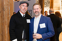 SAN FRANCISCO, CA - October 16 - Brian Lewis and Mike Grisso attend Kilroy Realty / US Olympic Sailing Cocktail Reception 2019 on October 16th 2019 at Kilroy Innovation Center in San Francisco, CA (Photo - Andrew Caulfield for Drew Altizer Photography)