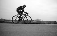 Gent-Wevelgem 2013.Chris Sutton (AUS) with 20 km to go