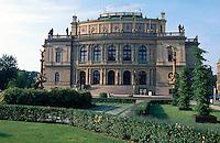 Rudolfinum (Umelcu Dum), Prag, Tschechien, Unesco-Weltkulturerbe