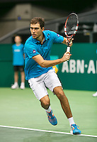 11-02-14, Netherlands,Rotterdam,Ahoy, ABNAMROWTT, Jerzy Janowicz (POL)<br /> Photo:Tennisimages/Henk Koster