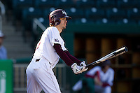 Kevin Medrano (13) of the Missouri State Bears at bat during a game against the Southern Illinois University- Edwardsville Cougars at Hammons Field on March 9, 2012 in Springfield, Missouri. (David Welker / Four Seam Images)