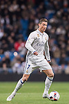 Cristiano Ronaldo of Real Madrid in action during their Copa del Rey 2016-17 Quarter-final match between Real Madrid and Celta de Vigo at the Santiago Bernabéu Stadium on 18 January 2017 in Madrid, Spain. Photo by Diego Gonzalez Souto / Power Sport Images