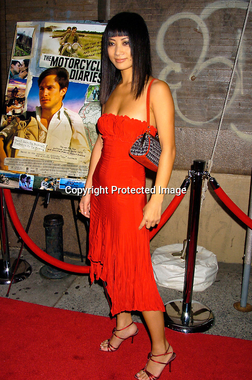 Bai Ling ..at the New York Premiere of Motorcycle Diaries on September 20, 2004 at the Loews 19th Street Theatre. ..Photo by Robin Platzer, Twin Images