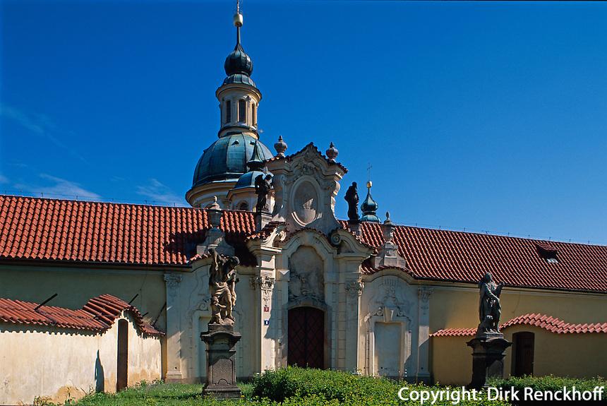 Tschechien, Prag, Kirche Maria vom Berge, Unesco-Weltkulturerbe