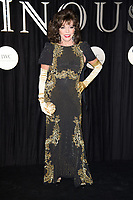 Dame Joan Collins<br /> arriving for the BFI Luminous Fundraising Gala 2017 at the Guildhall , London<br /> <br /> <br /> ©Ash Knotek  D3316  03/10/2017