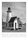 LIGHTHOUSE<br /> North Hatfield, Massachusetts © Brian Vanden Brink, 1986