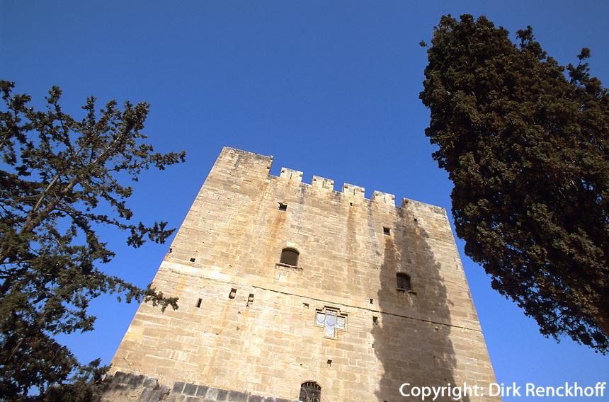 Zypern (Süd), Burg von Kolossi bei Limassol (Lemesos)