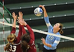 Tulane Women's Volleyball defeats Rider in three straight sets on their way to capturing the championship in the Kathy Trosclair Memorial Tournament.