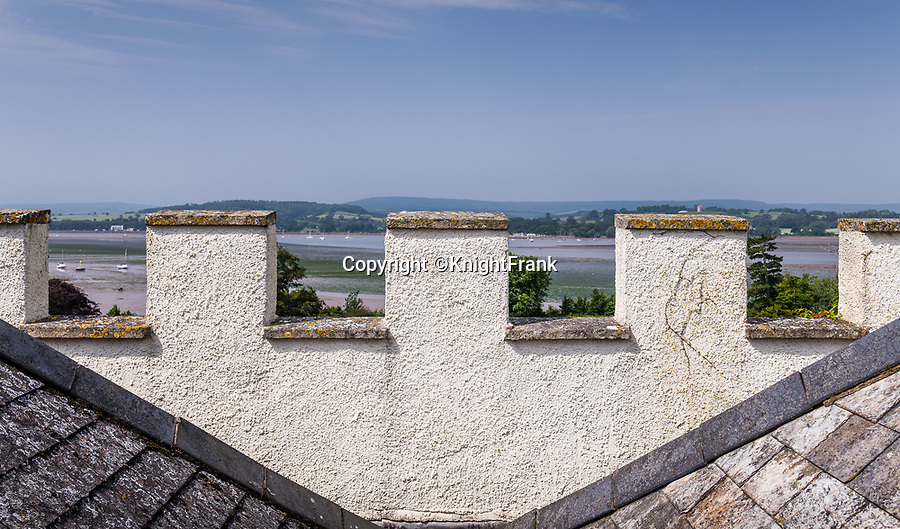 BNPS.co.uk (01202 558833)<br /> Pic: KnightFrank/BNPS<br /> <br /> Sweeping views over the river Exe...<br /> <br /> A breathtaking waterfront mansion that was once home to Sir Francis Drake has emerged for sale for £5m.<br /> <br /> Belvedere in Exmouth, Devon, is nestled on the banks of the River Exe and was historically part of the Nutwell Estate.<br /> <br /> Nutwell was the Drake family home and passed through the generations before falling into the hands of the explorer in the 16th century.