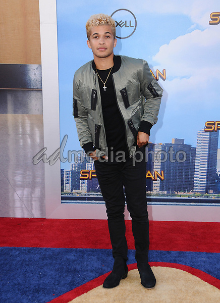 """28 June 2017 - Hollywood, California - Jordan Fisher. """"Spider-Man: Homecoming"""" Los Angeles Premiere held at the TCL Chinese Theatre in Hollywood. Photo Credit: Birdie Thompson/AdMedia"""
