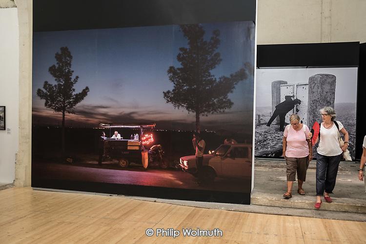LES RENCONTRES D'ARLES:  Iranian photography exhibition
