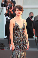 "VENICE, ITALY - SEPTEMBER 07: Małgorzata Szumowska walks the red carpet ahead of the movie ""Sniegu Juz Nigdy Nie Bedzie"" (Never Gonna Snow Again) at the 77th Venice Film Festival on September 07, 2020 in Venice, Italy. <br /> CAP/MPI/AF<br /> ©AF/MPI/Capital Pictures"