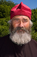 Portrait of Russian Orthodox priest, Lviv, Ukraine