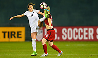 Washington, D.C. - March 7, 2017: France defeats the U.S. Women's national team 3-0 in a SheBelieves Cup match at RFK Stadium.