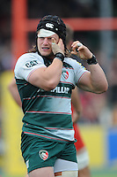 Harry Thacker of Leicester Tigers during the Aviva Premiership semi final match between Saracens and Leicester Tigers at Allianz Park on Saturday 21st May 2016 (Photo: Rob Munro/Stewart Communications)