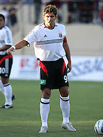 4 June 2005:  Jaime Moreno of DC United in action against Earthquakes at Spartan Stadium in San Jose, California.  Earthquakes tied DC United, 0-0.  Credit: Michael Pimentel / ISI