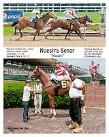 Nuestra Señor winning at Delaware Park on 6/12/13