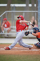 St. Louis Cardinals Brian O'Keefe (16) during a Minor League Spring Training game against the Houston Astros on March 27, 2018 at the Roger Dean Stadium Complex in Jupiter, Florida.  (Mike Janes/Four Seam Images)