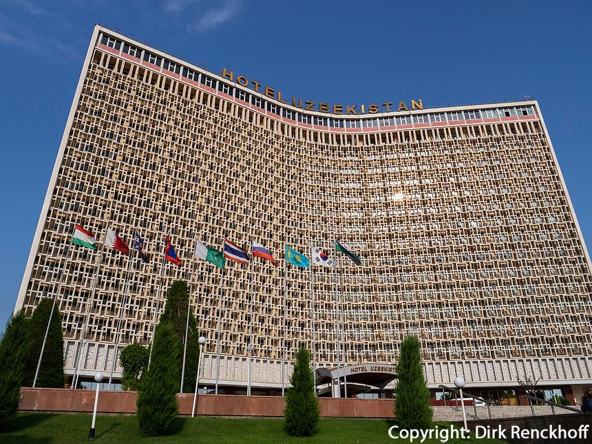 Hotel Uzbekistan, Taschkent, Usbekistan, Asien<br /> Hotel Uzbekistan in Tashkent, Uzbekistan, Asia