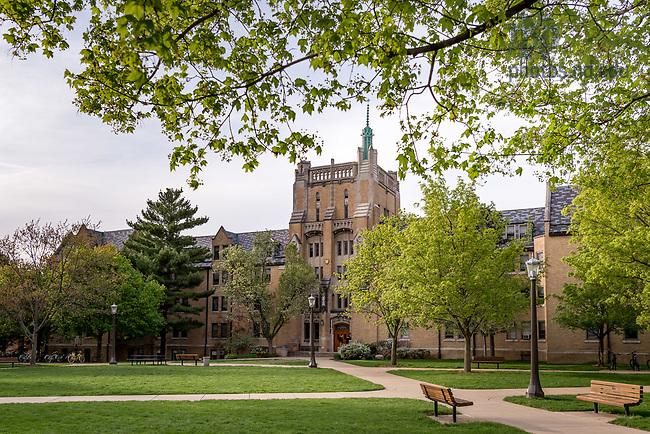 April 21, 2017; Morrissey Manor Spring 2017 (Photo by Matt Cashore/University of Notre Dame)