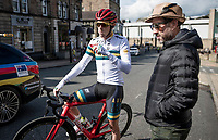 defending TT World Champion Rohan Dennis (AUS/Bahrein-Merida) (on a BMC bike...) after the Team Australia TT recon<br /> <br /> 2019 Road World Championships Yorkshire (GBR)<br /> <br /> ©kramon