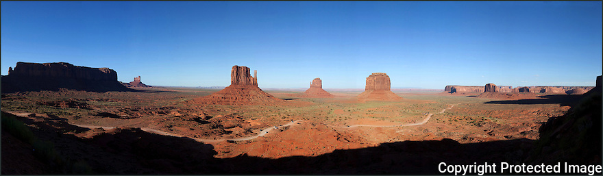 Arizona-Route 66<br /> Monument valley