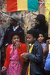 Teen black girls Notting Hill west London 1970s UK