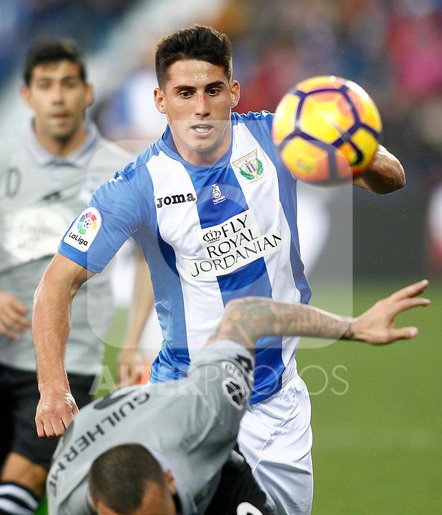 CD Leganes' Gabriel Pires during La Liga match. February 25,2017. (ALTERPHOTOS/Acero)