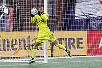 20th November 2020; Foxborough, MA, USA;  Montreal Impact goalkeeper Clement Diop makes a save during the MLS Cup Play-In game between the New England Revolution and the Montreal Impact