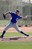 Casey Lambert - Chicago Cubs - 2009 spring training.Photo by:  Bill Mitchell/Four Seam Images