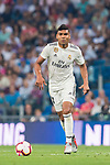 Carlos Henrique Casemiro of Real Madrid in action during the La Liga 2018-19 match between Real Madrid and CD Leganes at Estadio Santiago Bernabeu on September 01 2018 in Madrid, Spain. Photo by Diego Souto / Power Sport Images
