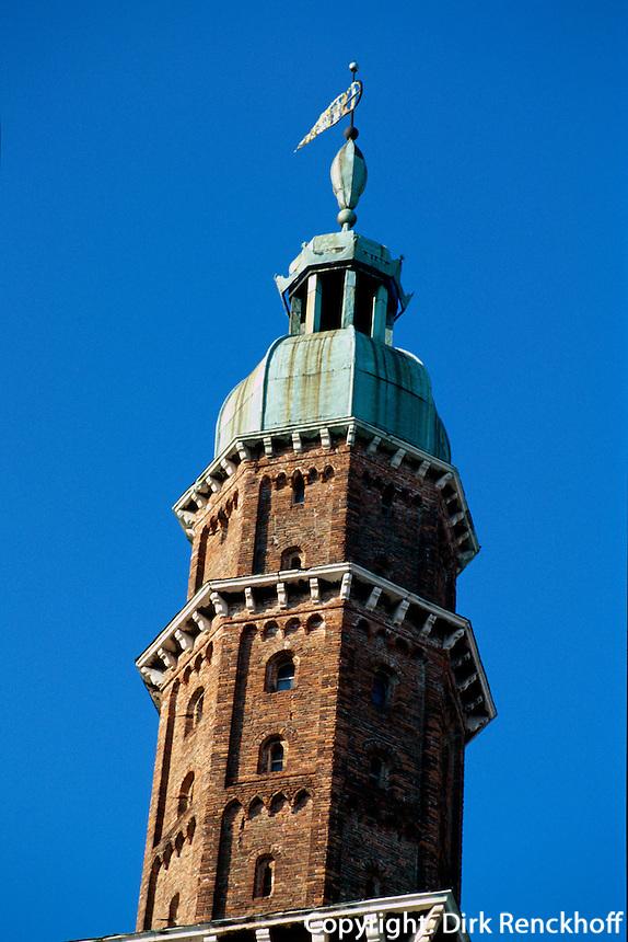 Italien, Venetien-Friaul, Vicenza, Torre de Piazza, Unesco-Weltkulturerbe