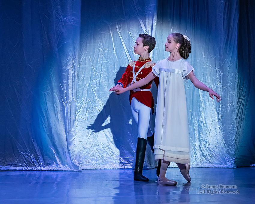 Nutcracker 2018 in Sedona, Arizona ©2019 James D. Peterson.  Images of dancers in performance and backstage from the production by Sedona Chamber Ballet in collaboration with Phoenix Ballet.