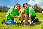 Ann and Gerry O'Riordan with their dog, Marcel who is the Ambassador dog for Irish Guide Dogs for the Blind who has been a great help to her throughout lockdown and are they are celebrating the National Guide Dog day on Friday.