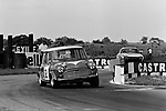 Barrie 'Whizzo' Williams in saloon car action at Croft in 1969.