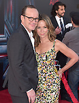 "Jennifer Grey and Clark Gregg attends The World Premiere of Marvel's ""Avengers"" Age of Ultron,"" held at The Dolby Theatre in Hollywood, California on April 13,2015                                                                               © 2014 Hollywood Press Agency"