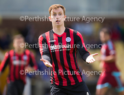 St Johnstone v Real Sociadad...12.07.15  Bayview, Methil (Home of East Fife FC)<br /> Liam Craig back in a saints shirt appearing as a trialist<br /> Picture by Graeme Hart.<br /> Copyright Perthshire Picture Agency<br /> Tel: 01738 623350  Mobile: 07990 594431