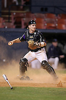 Minnesota State Mavericks Steven Helget #12 during a game vs. the Illinois State Redbirds at Chain of Lakes Park in Winter Haven, Florida;  March 4, 2011.  Illinois State defeated Minnesota State 3-2.  Photo By Mike Janes/Four Seam Images