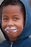 Portrait of a boy, Arniston, South Africa
