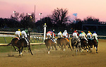 Uncaptured and Miguel Mena win the Kentucky Jockey Club at Churchill Downs.  November 24, 2012.
