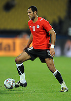 Mohammed Shawky of Egypt. USA defeated Egypt 3-0 during the FIFA Confederations Cup at Royal Bafokeng Stadium in Rustenberg, South Africa on June 21, 2009.