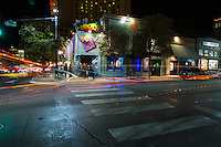 6th Street Entertainment District offers modern day vaudeville theatre and comedy clubs along with a barrage of bars and restaurants in downtown Austin, Texas.